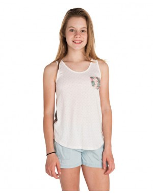 POCKET TANK - WHITE