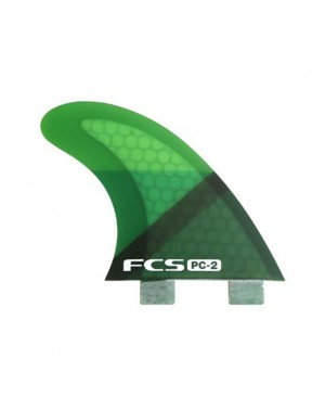 PC-2 Green Slice Tri  Fins