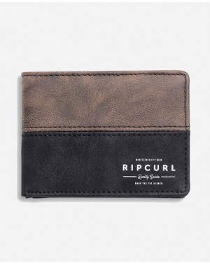 ARCH RFID PU SLIM - BROWN