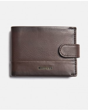 HORIZONS PU CLIP SLIM - BROWN