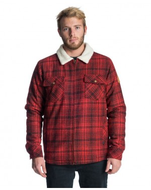LOGGERS JACKET - RED