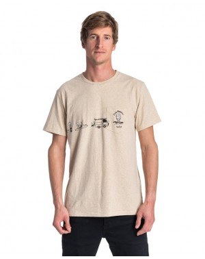 PICTOGRAMS SS TEE - CEMENT...