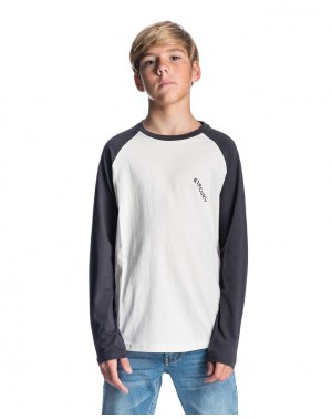 SET UP RAGLAN LONG SLEEVES TEE