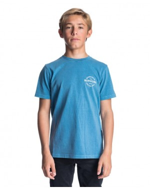 PERFECTO TEE BOY - DENIM BLUE