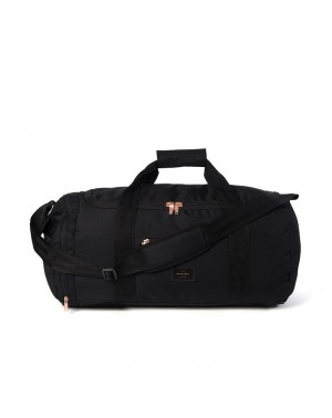 LARGE PCKBL DUFFLE ROSE