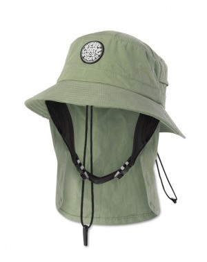 WETTY SURF HAT - MID GREEN