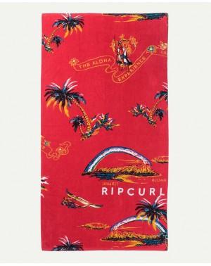 CORPO TOWEL - BRIGHT RED