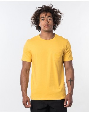 ECO CRAFT SS TEE - WASHED...