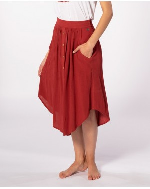 OASIS MUSE SKIRT - ROSEWOOD
