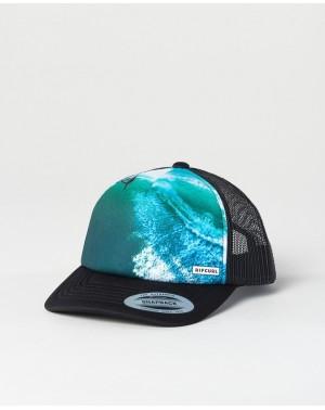 ACTION SUBLI CAP - BLACK