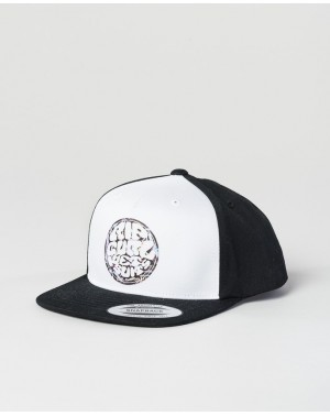 LOGO CAP GROMS - BLACK