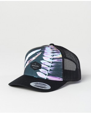 SQUAD TRUCKER CAP - BLACK
