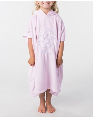 MINI HOODED TOWEL - LILAC
