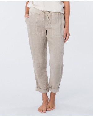 THE OFF DUTY PANT - STONE BLUE