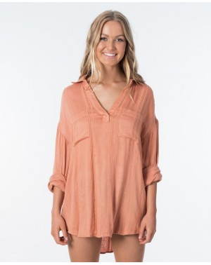 SUNRISE SHIRT - PEACH