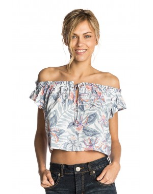 TROPIC TRIBE TOP - WHITE