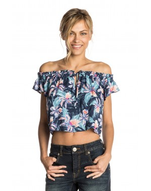 TROPIC TRIBE TOP - NAVY