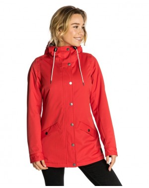 ANTI SERIES TIDE JACKET - RED