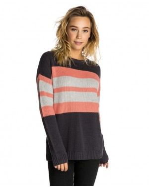 SHADES OF SUN CREW SWEATER