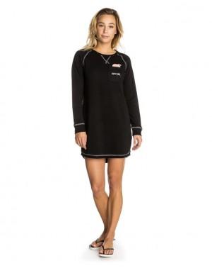 SUNSHINE DRESS - BLACK