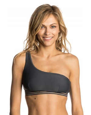 ILLUSION ONE STRAP TOP