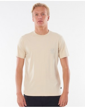 SEARCHERS TEE - LIGHT KHAKI
