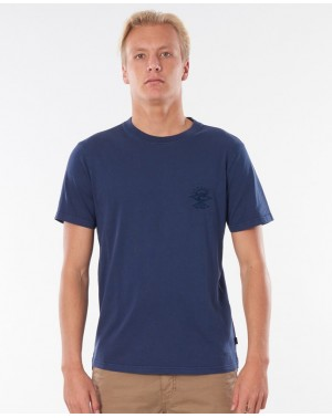 SEARCHERS TEE - NAVY