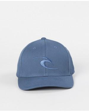 TEPAN CURVE PEAK CAP - BLUE