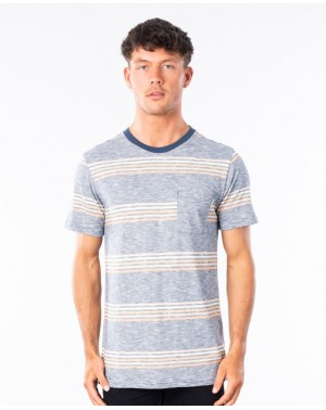 SURF REVIVAL STRIPE - NAVY