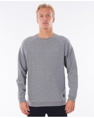 VAPOR COOL CREW - GREY MARLE