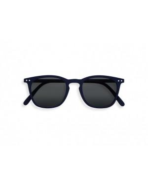 E Navy Blue Soft Grey Lenses