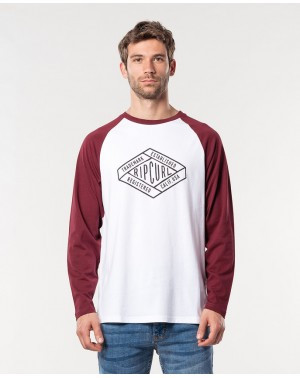RETRO DIAMOND LS TEE