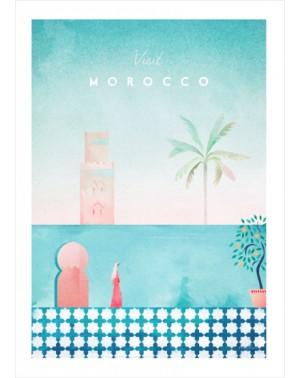 Visit Morocco 30X40