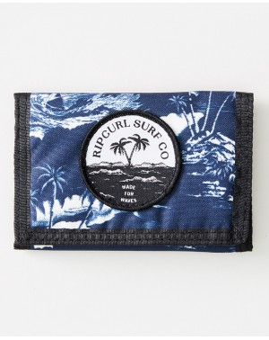 MIX UP SURF WALLET - NAVY