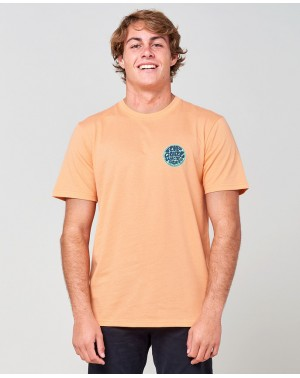 PASSAGETEE - WASHED PEACH