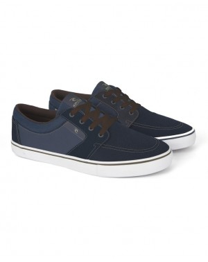 TRANSIT VULC - NAVY/BROWN