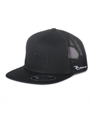 RC CLASSIC TRUCKER CAP - BLACK