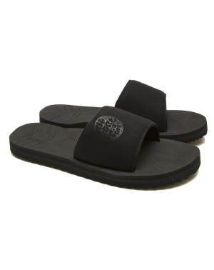 P-LOW SLIDE - BLACK