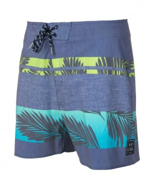 RETRO PALM TREE 16 BOARDSHORT