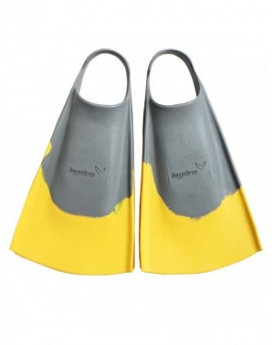 Hydro Fin - Grey/Yellow