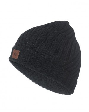 SUNDAY SUN BEANIE - BLACK