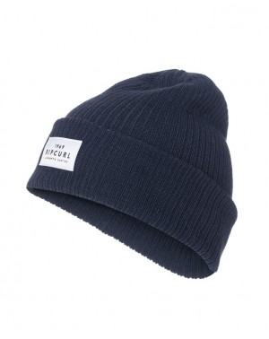 ESSENTIALS BEANIE - NAVY
