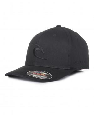 TEPAN CURVE PEAK CAP - BLACK