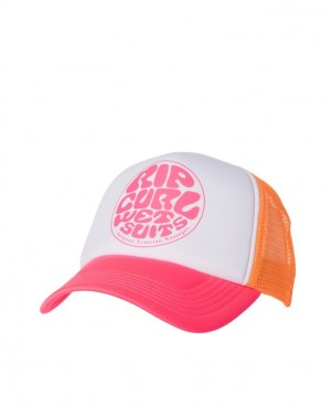 WETTIE TRUCKA CAP - CORAL