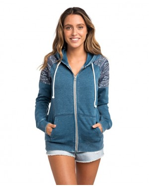 MAI TIDE ZIP THRU FLEECE