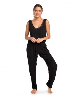KELLY COMBI PANT - BLACK